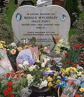 Billy Fury's Grave
